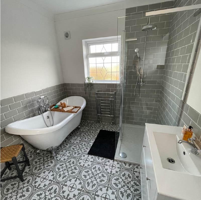 Holly's beautiful bathroom