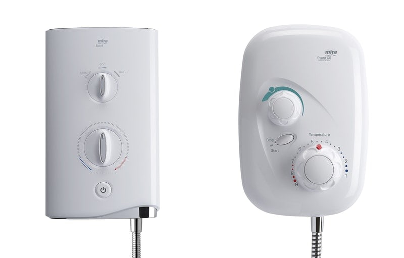 The differences between an electric shower and an electric power shower