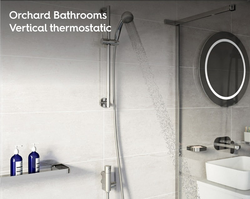 Orchard Vertical shower bar valve