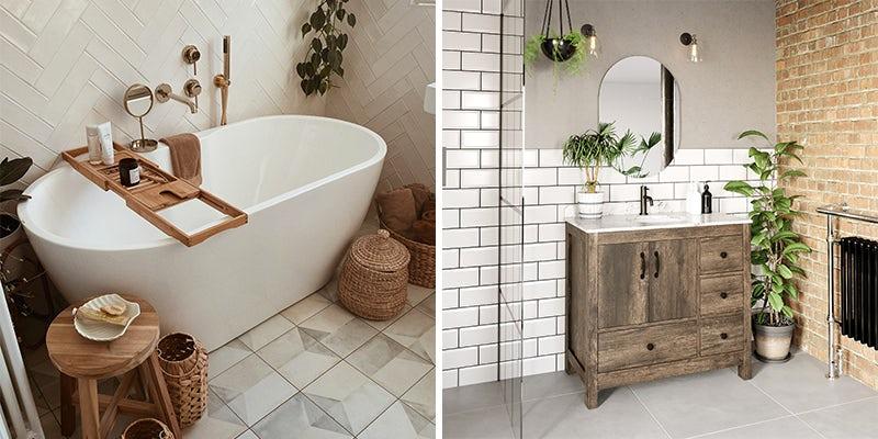 Trailing bathroom plant ideas