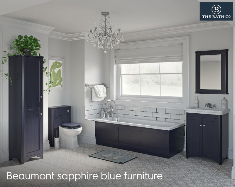 Beaumont sapphire blue furniture
