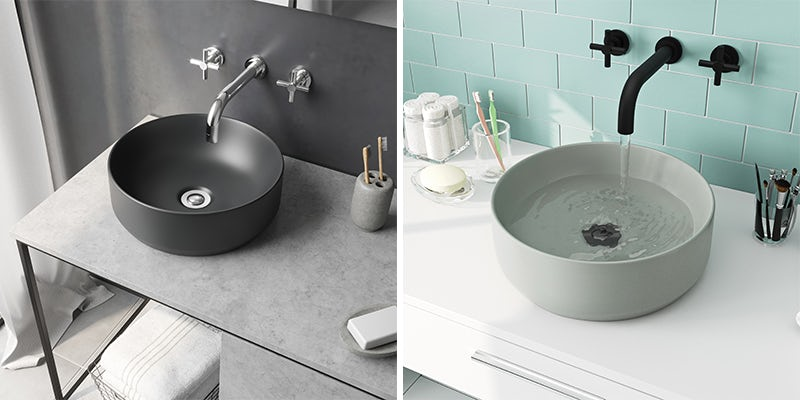 Choose the Orion range for black accents