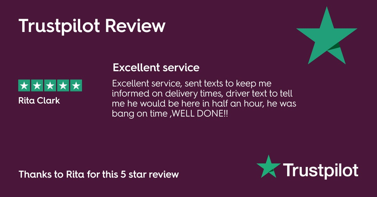 VictoriaPlum.com 5 star Trustpilot Review