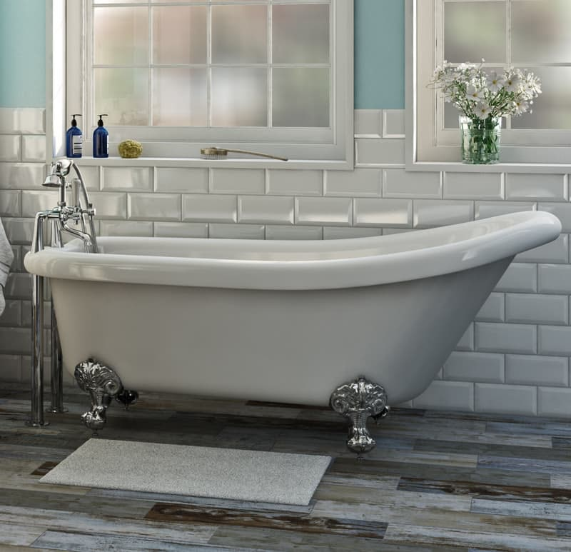 The Bath Co. Traditional bath filler tap standpipes