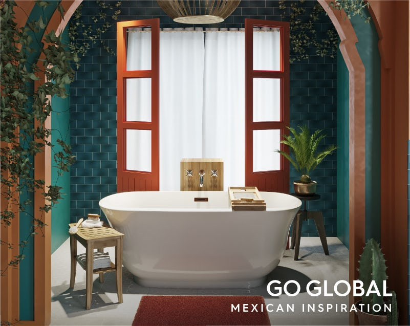 Get the look: Go Global—Mexico bath