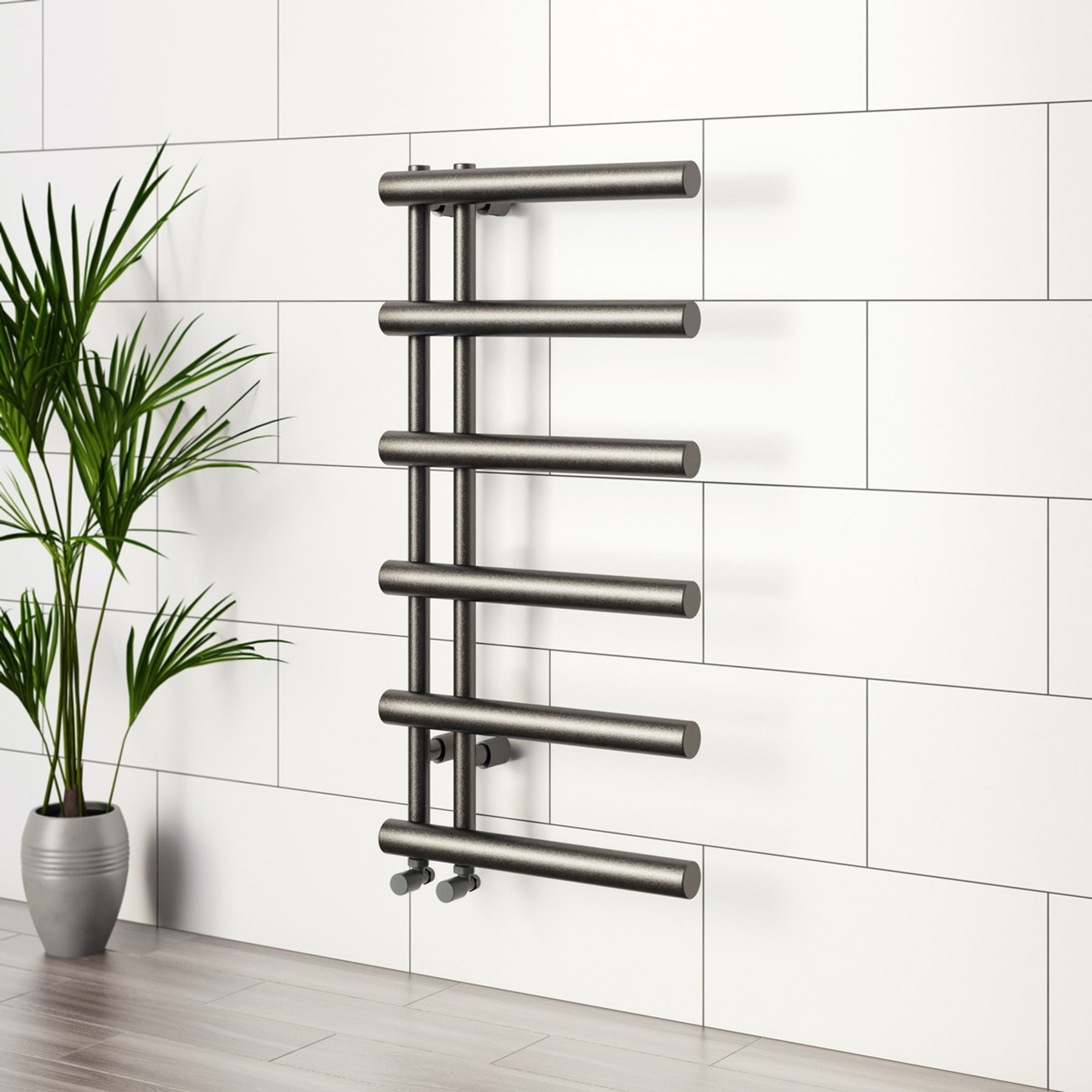 Designer heated towel rails from Victoria Plum