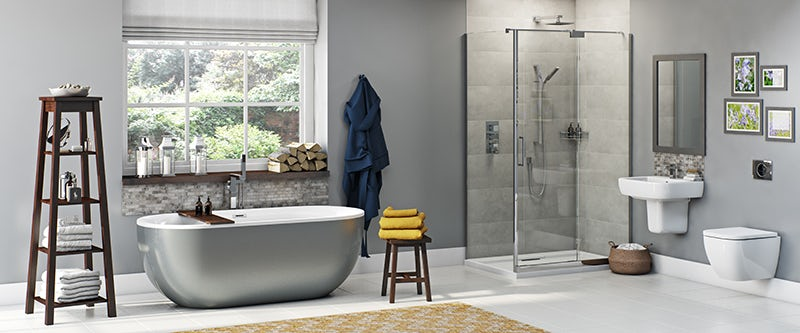 Mode Ellis storm bathroom suite with shower enclosure 1200 x 800