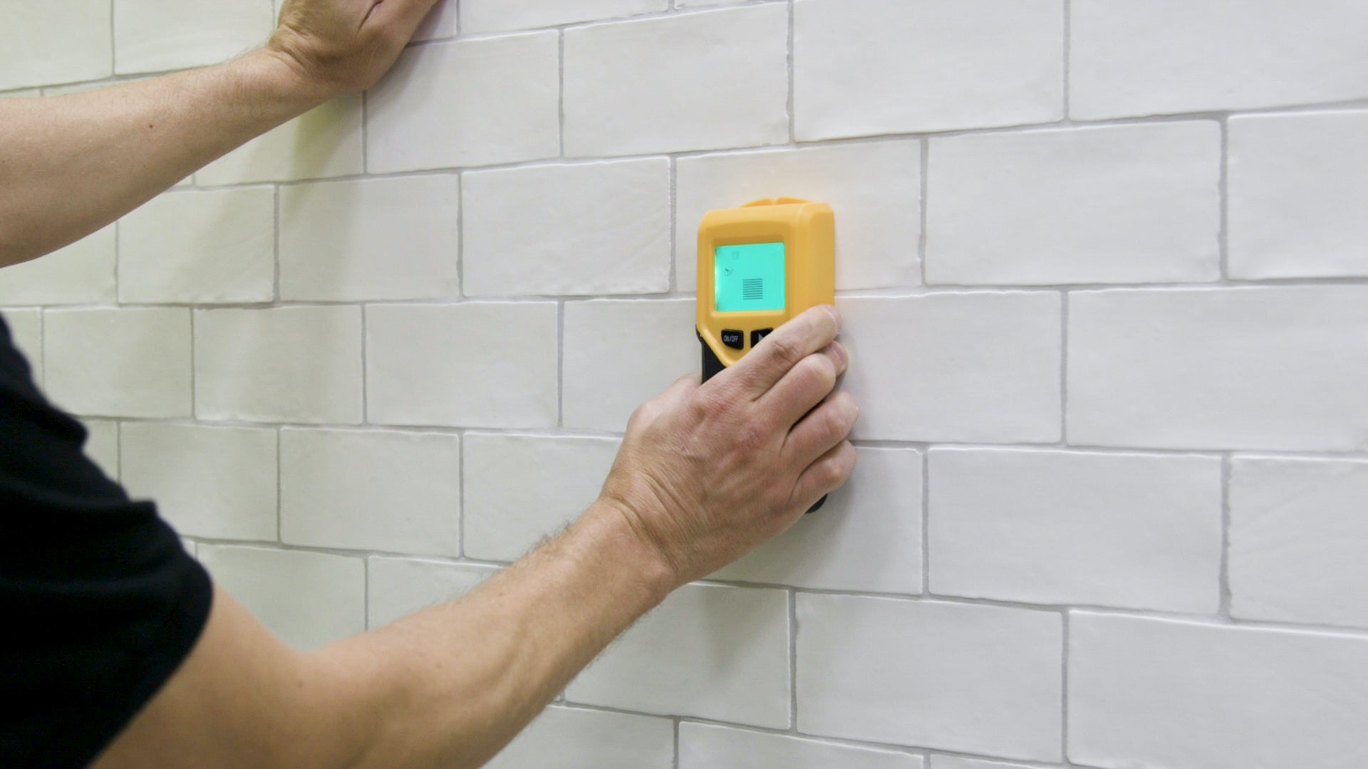 How to drill through tile 1