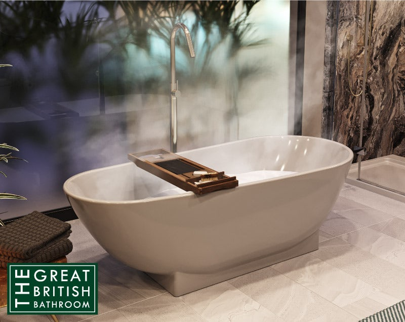 Mode Burton freestanding bath 1800 x 800
