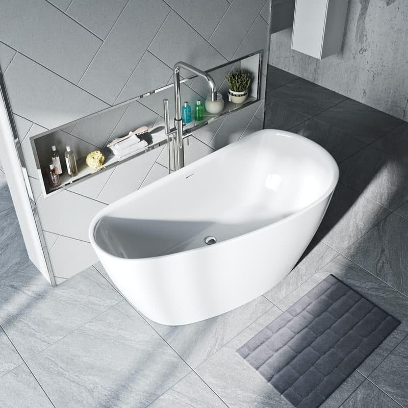 Mode Spencer freestanding bath 1500 x 720