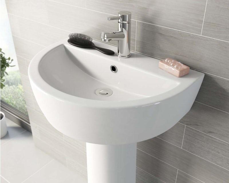 A basin waste