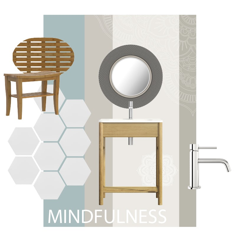 Mindfulness mood board