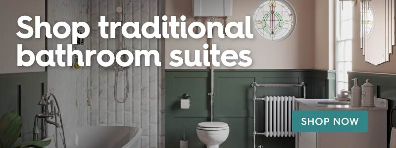 Shop traditional bathroom suites