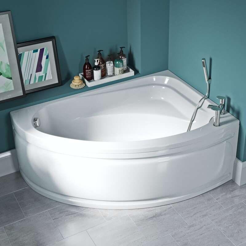 Elsdon offset corner bath