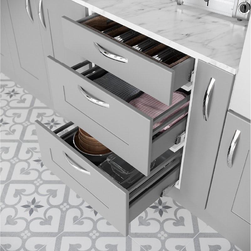 Make optimum use of drawer space
