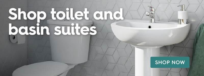 Shop toilet and basin suites