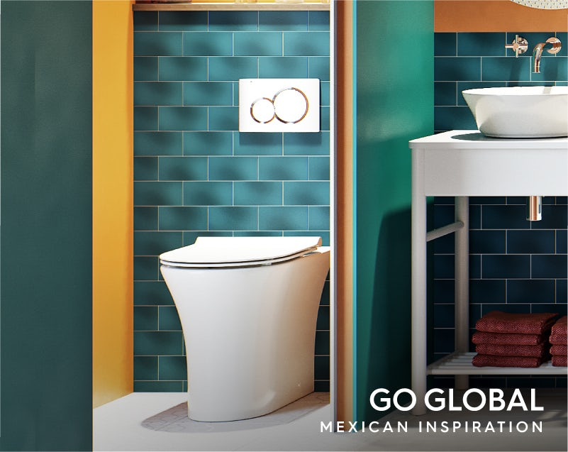 Get the look: Go Global—Mexico toilet