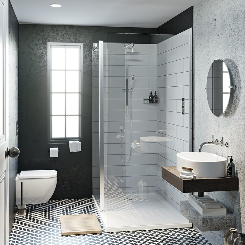 Soft industrial en-suite