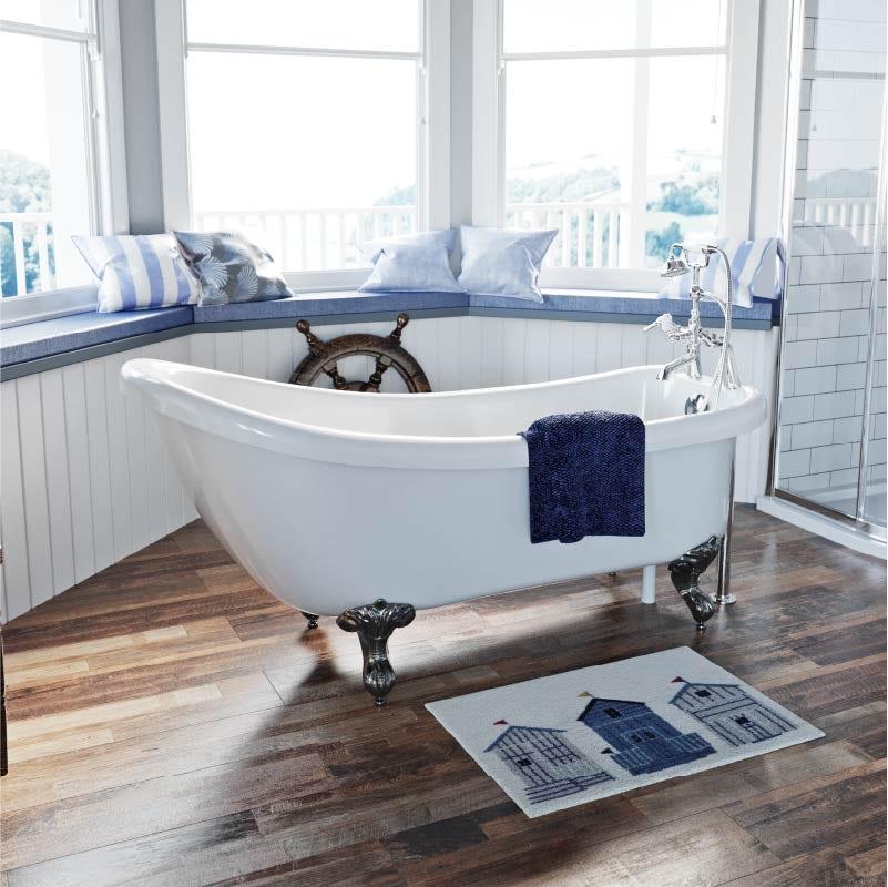 The Bath Co. Traditional single ended slipper bath