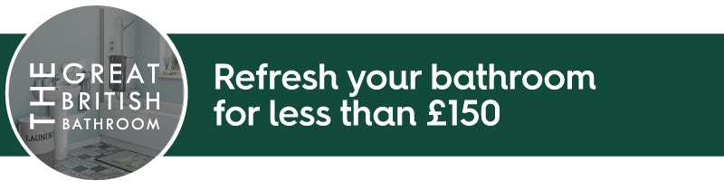 Refresh your bathroom for less than £500