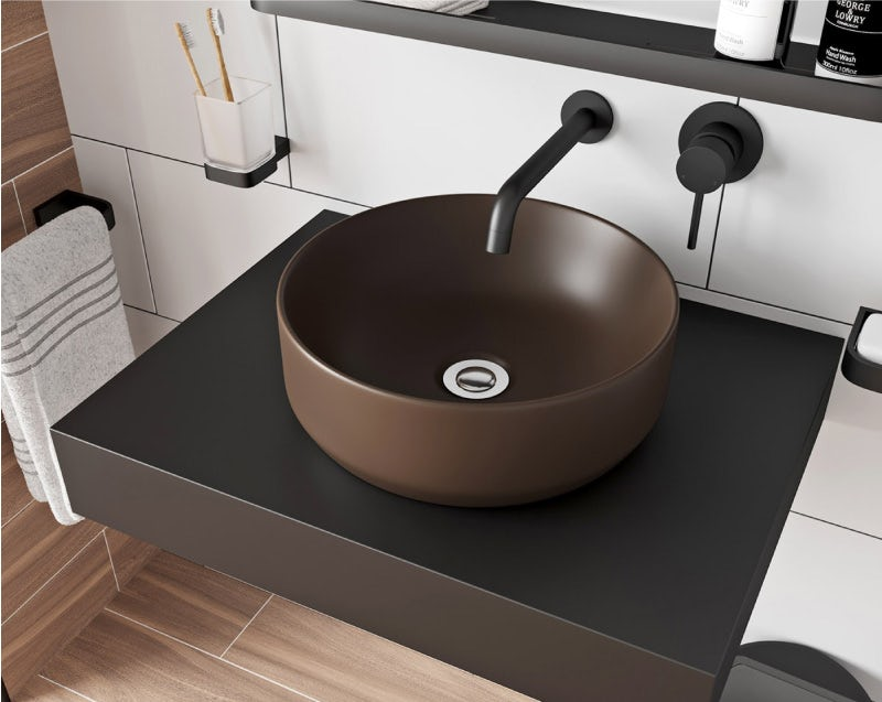 Mode Orion brown countertop basin 355mm