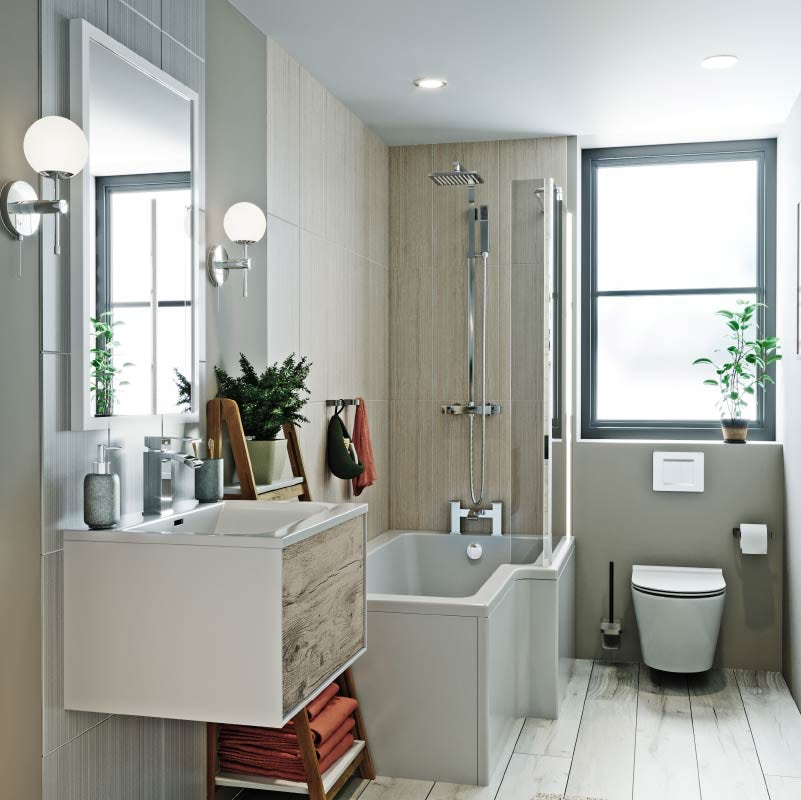 Lagom small bathroom ideas