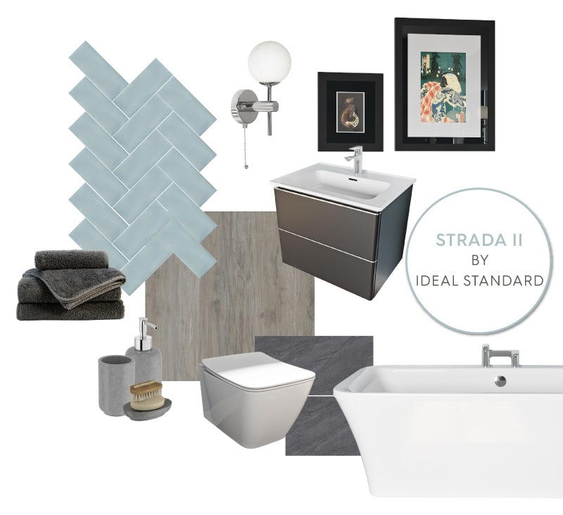 Ideal Standard Strada II bathroom mood board