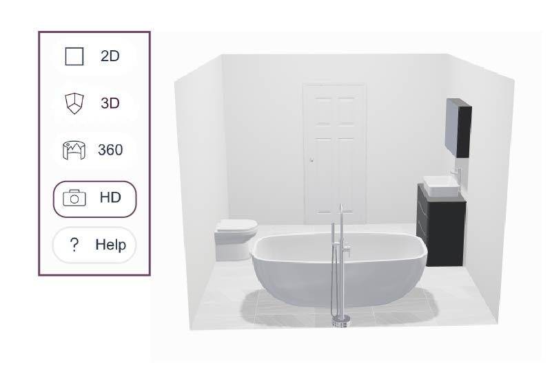 Take a HD snapshot of your bathroom