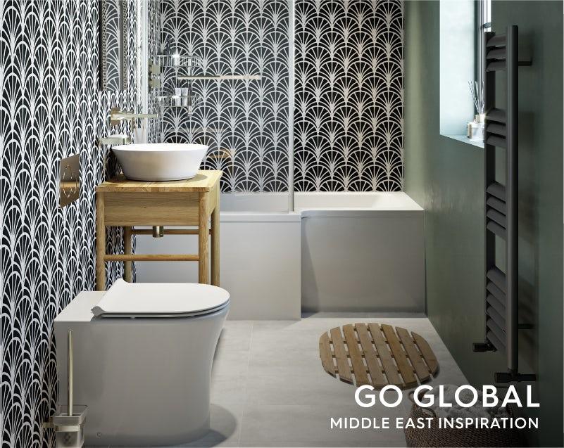 Go Global—Middle East small bathroom