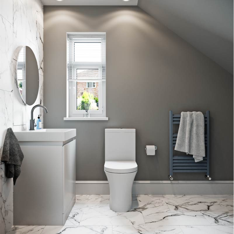 Small cloakroom ideas from Mode Bathrooms