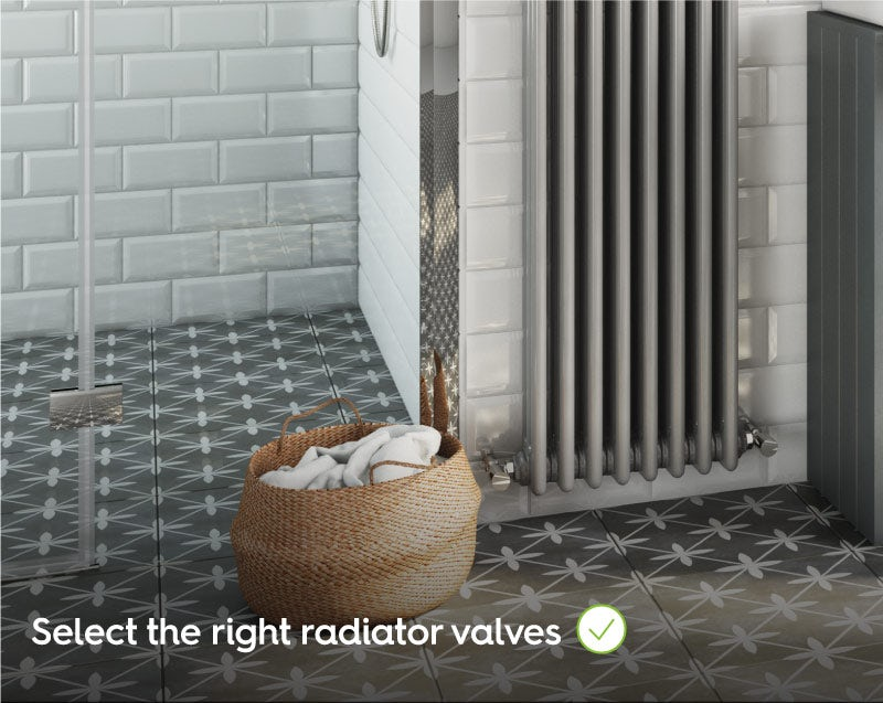 Select the right radiator valves