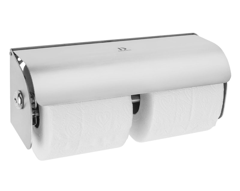 Commercial toilet roll dispensers