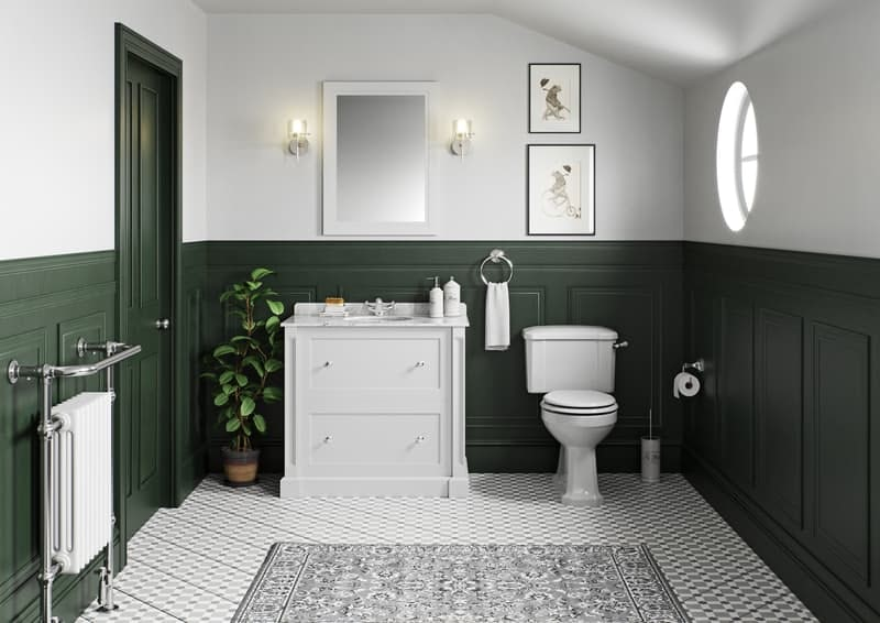 A traditional bathroom in an Edwardian home