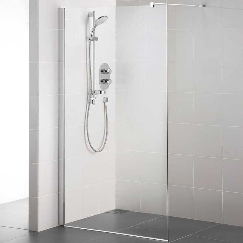 Ideal Standard Synergy 8mm wet room panel with IdealClean glass