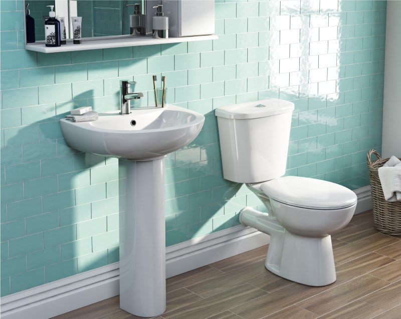Measure the space around your toilet and basin