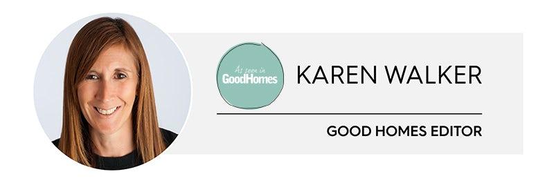 Karen Walker, Editor, Good Homes