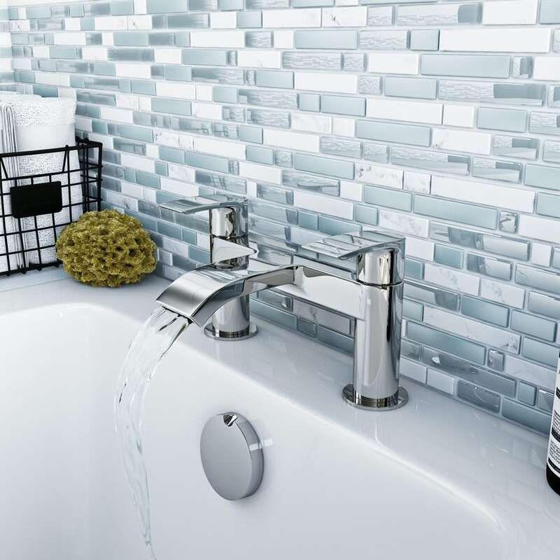 Orchard Wye round bath mixer tap