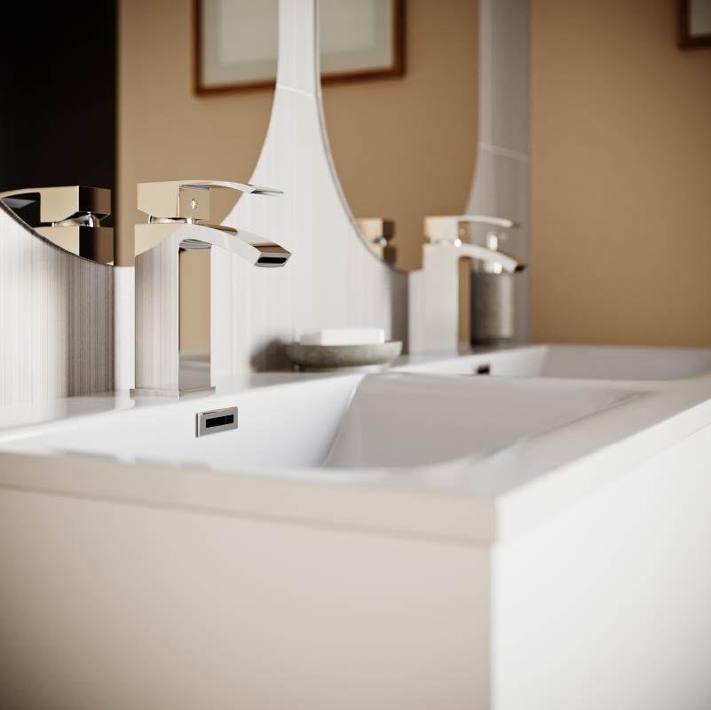 Lagom bathroom—basin taps