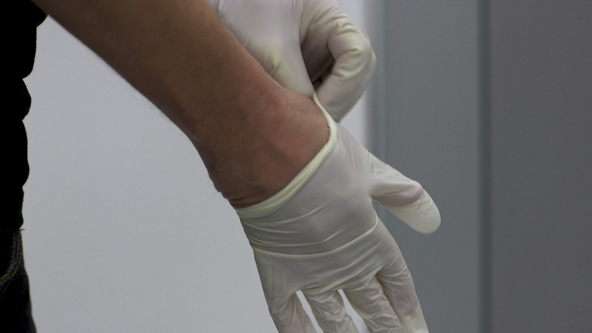 wear protective gloves when sealing