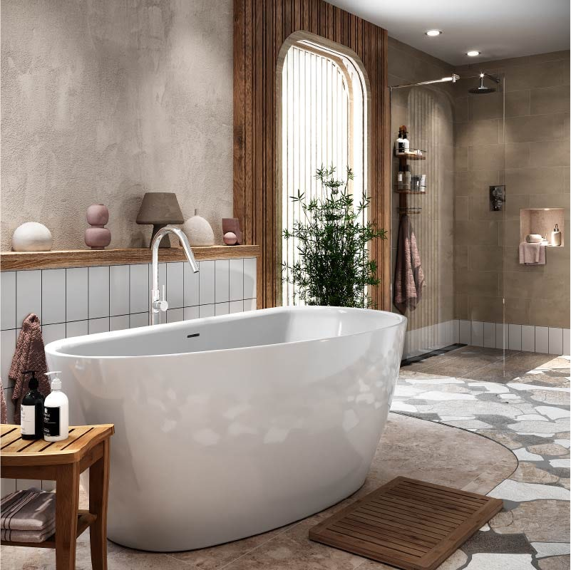 Mode Bathrooms Spencer freestanding bath