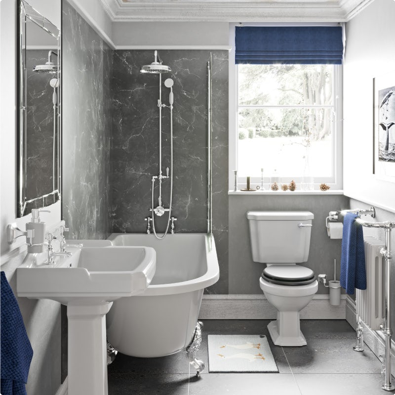 Adding accent to your bathroom—after