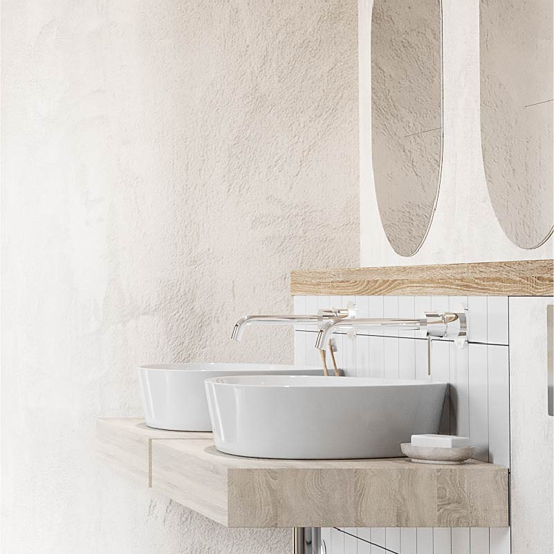 Mode Swan thin edge countertop basin