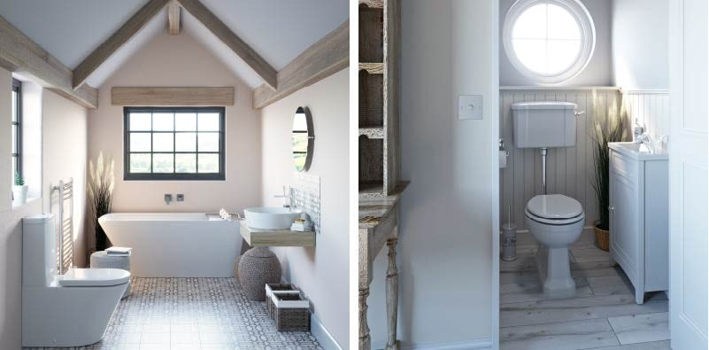 Authentic Softy 2021 bathroom trends