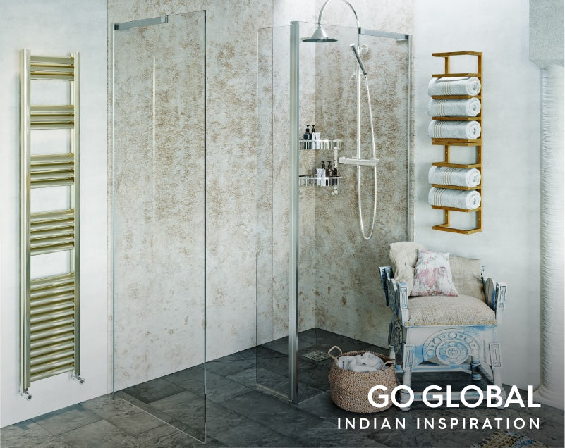 Get the look: Go Global—India shower