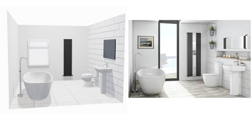 Turn your bathroom plan into reality