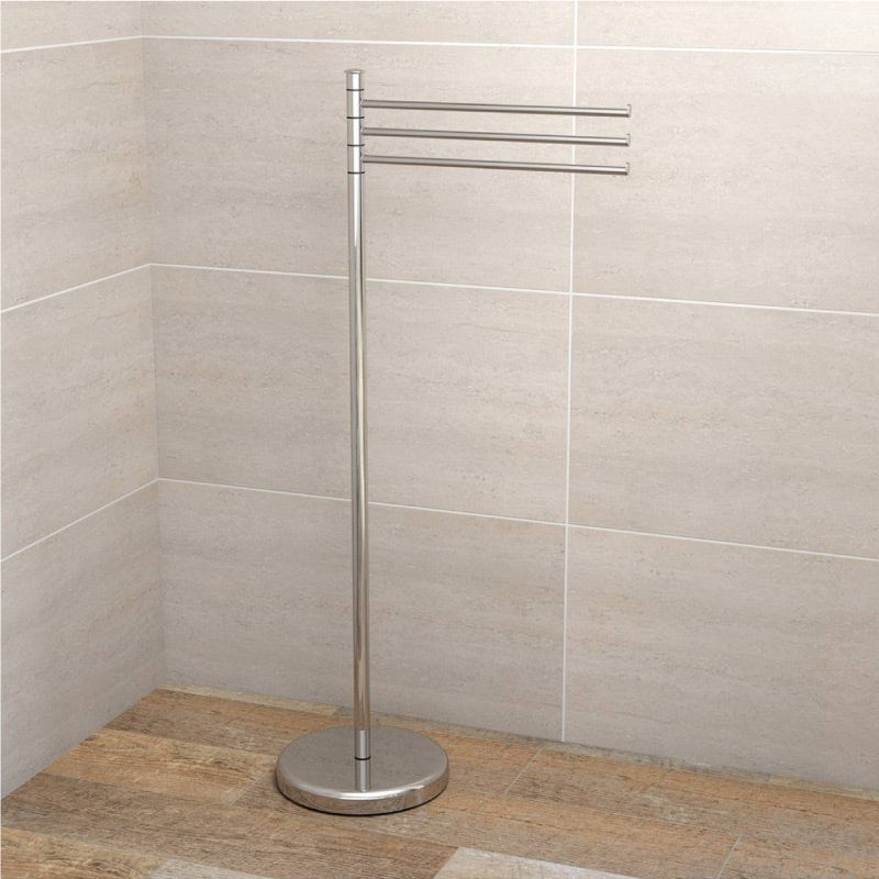 Orchard Options freestanding bathroom butler towel rail
