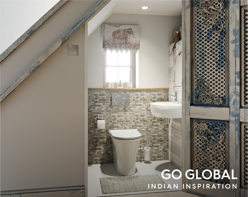 Get the look: Go Global—India cloakroom