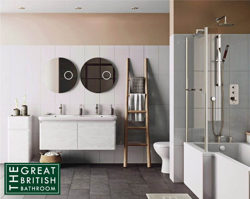 Spiced Honey bathroom colour ideas