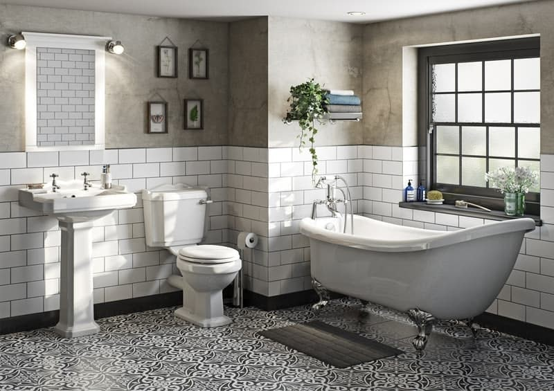 Winchester bathroom suite collection