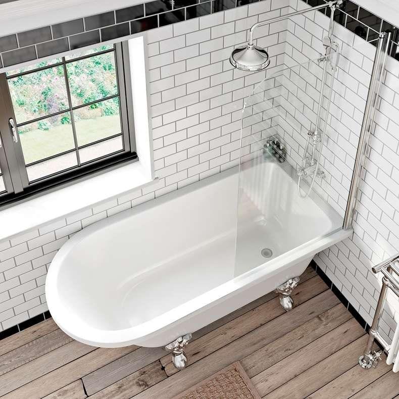 Traditional shower bath